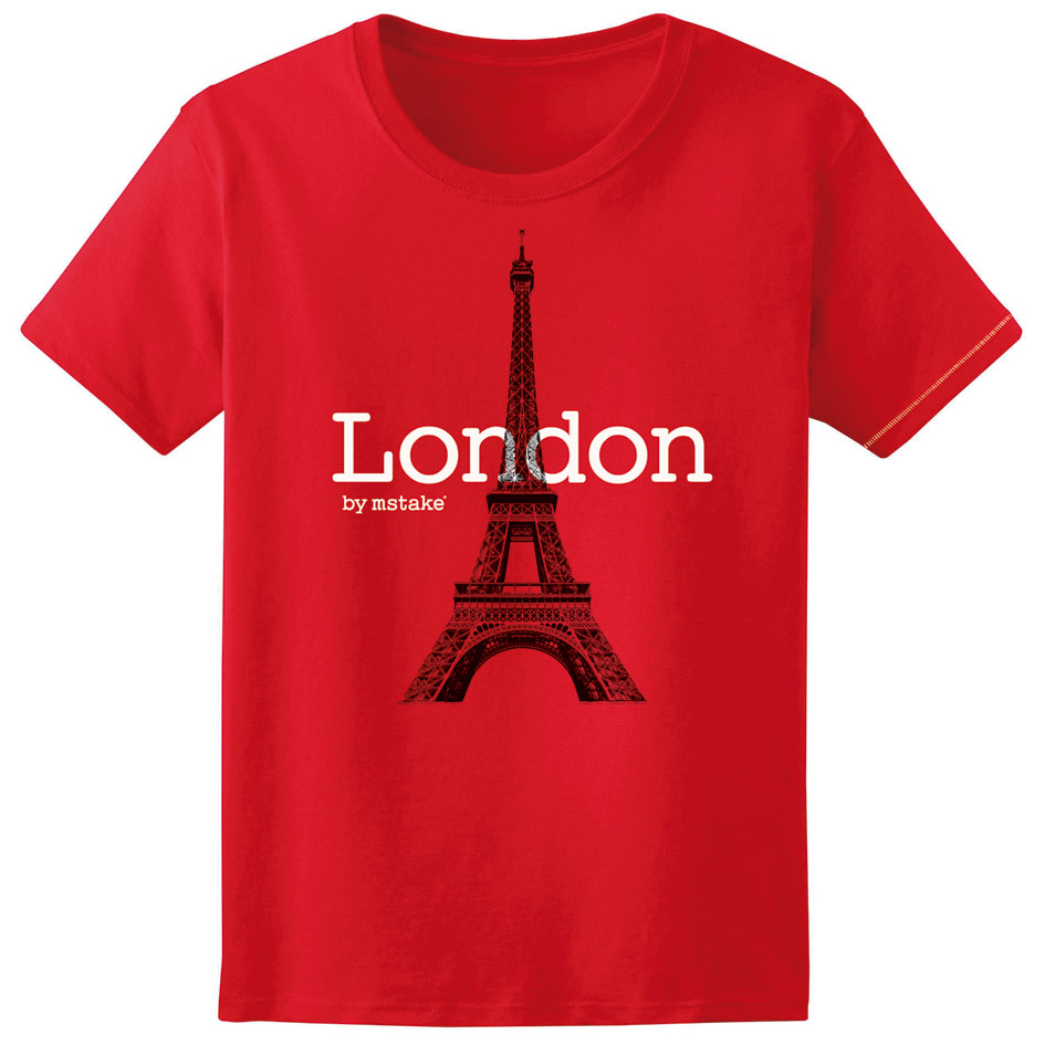 London + Eiffel Red