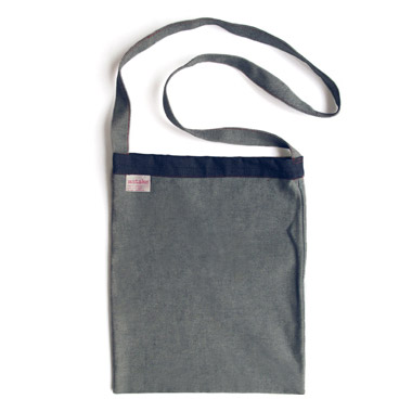 Inside-Out Jean Bag
