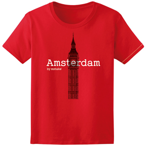 Amsterdam + Big Ben Red