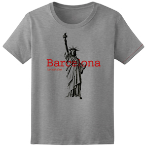 Barcelona + Liberty Woman Grey