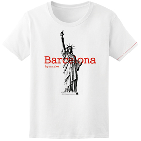 Barcelona + Liberty Woman White