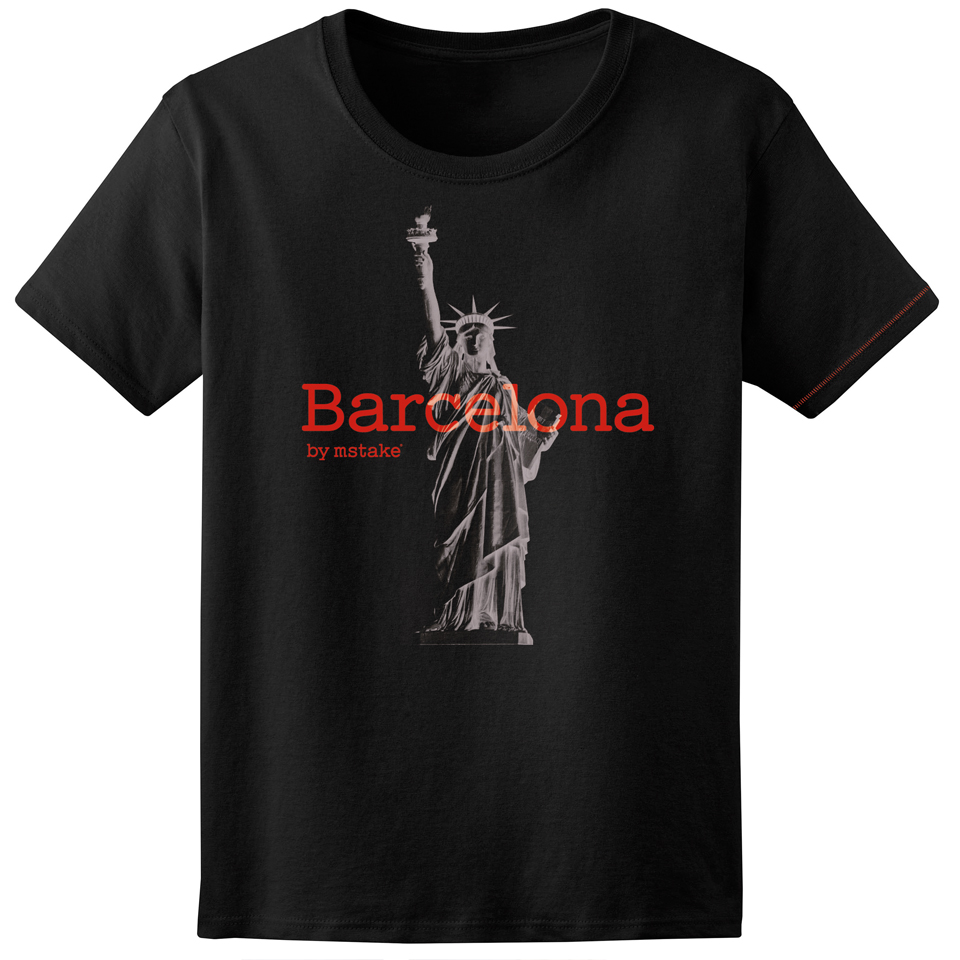 Barcelona + Liberty Woman Black