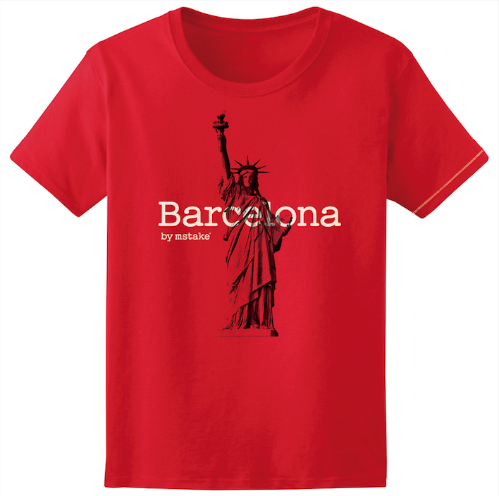Barcelona + Liberty Red Woman